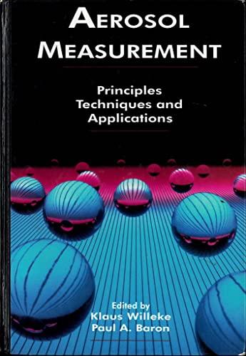9780442004866: Aerosol Measurement: Principles, Techniques, and Applications