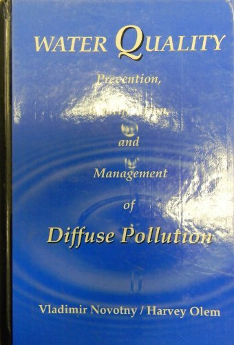 9780442005597: Water Quality: Prevention, Identification and Management of Diffuse Pollution