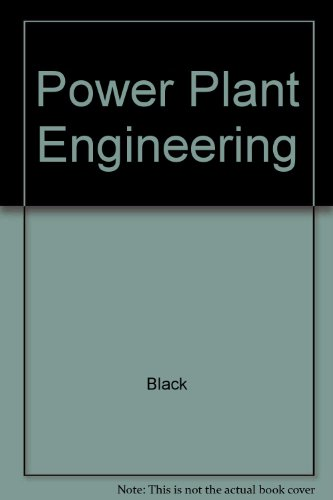 Power Plant Engineering (0442005938) by Black