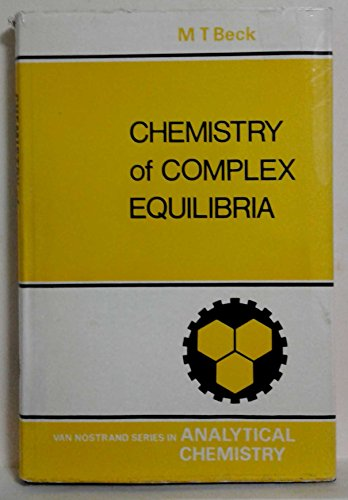 9780442006334: Chemistry of Complex Equilibria (Analysis Chemistry)