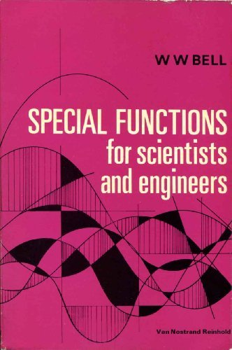 9780442006822: SPECIAL FUNCTIONS FOR SCIENTISTS AND ENGINEERS