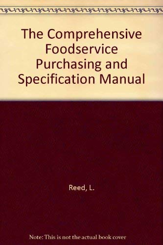 9780442007058: Specs: The Comprehensive Foodservice Purchasing and Specification Manual