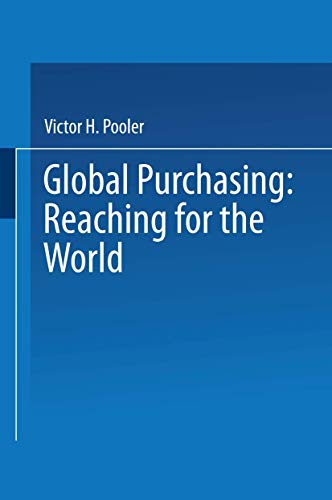 Global Purchasing:Reaching for the World (VNR Materials: Victor Pooler