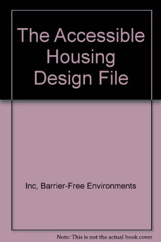 9780442007751: The Accessible Housing Design File