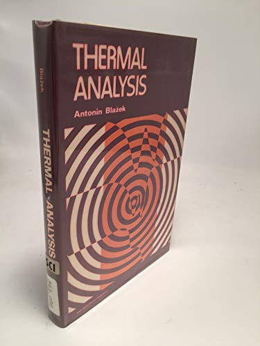Thermal Analysis: Blazek, Antonin