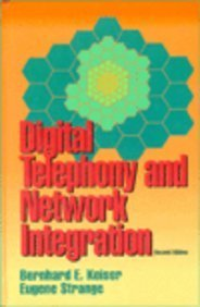 9780442009014: Digital Telephony and Network Integration (Electrical Engineering)