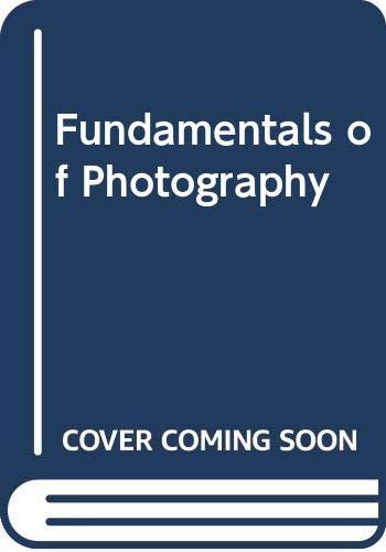 9780442009311: Fundamentals of Photography