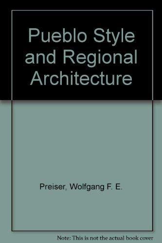 9780442011734: Pueblo Style and Regional Architecture
