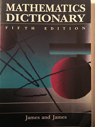 9780442012410: Mathematics Dictionary
