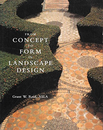 9780442012472: From Concept to Form in Landscape Design