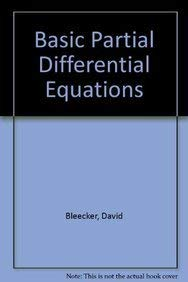9780442012533: Basic Partial Differential Equations