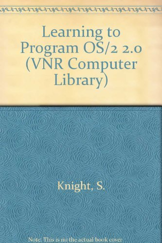9780442012922: Learning to Program Os/2 2.0 Presentation Manager by Example (Putting the Pieces Together/Book and Disk)