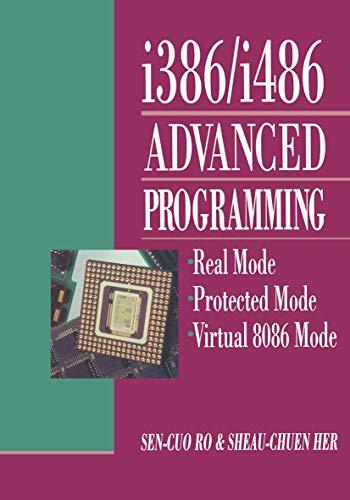 i386/i486 Advanced Programming: Real Mode Protected Mode Virtual 8086 Mode: Ro, Sen-cuo