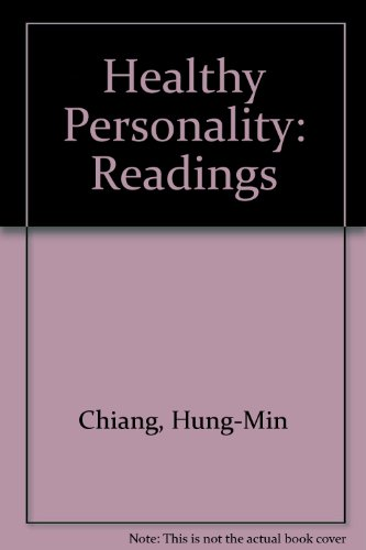 9780442015442: Healthy Personality: Readings