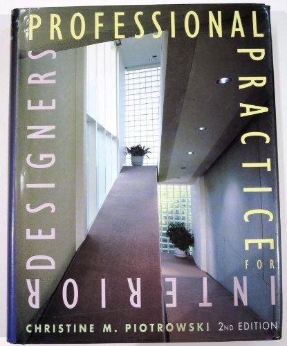 9780442016845: Professional Practice for Interior Designers