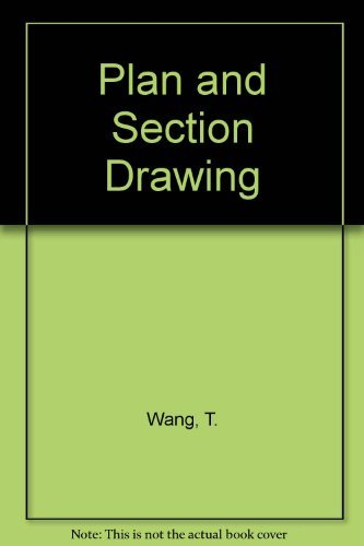 9780442017651: Plan and Section Drawing (Landscape Architecture)