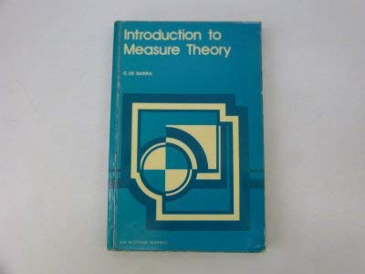 9780442020309: Introduction to Measure Theory
