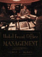 9780442020842: Hotel Front Office Management
