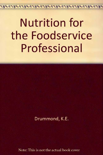 9780442021146: Nutrition for the Foodservice Professional