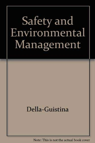 9780442021177: Safety and Environmental Management