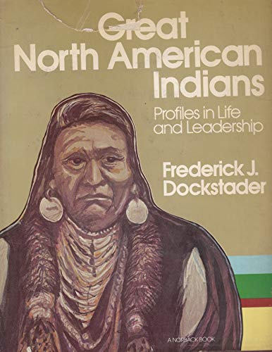 9780442021481: Great North American Indians: Profiles in Life and Leadership (A norback book)