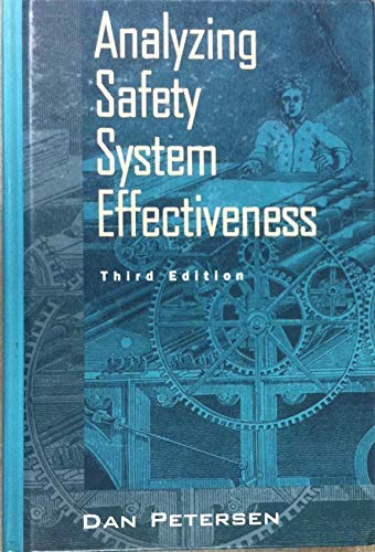 9780442021801: Analyzing Safety System Effectiveness (Industrial Health & Safety)