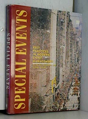 9780442022075: Special Events: Best Practices in Modern Event Management, 2nd Edition