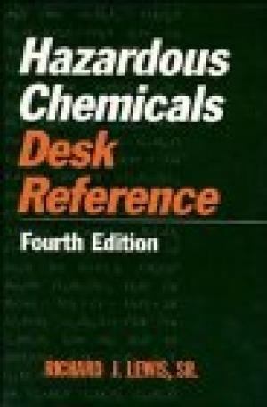 9780442023225: Hazardous Chemicals Desk Reference (4th ed)
