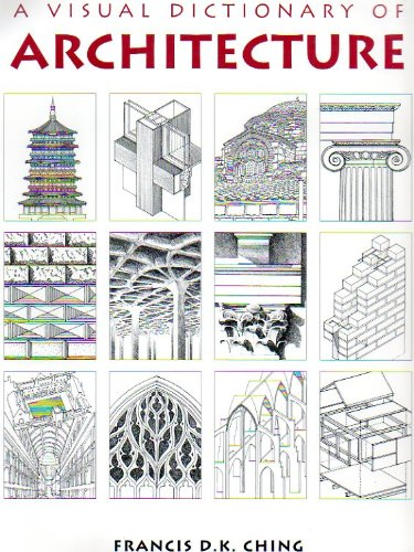 9780442024628: A Visual Dictionary of Architecture