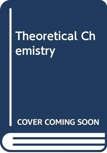 9780442027117: Theoretical Chemistry