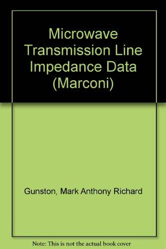 9780442028985: Microwave Transmission Line Impedance Data (Marconi)