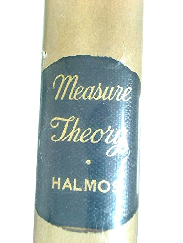 9780442030636: Measure Theory (The University Series in Higher Mathematics)