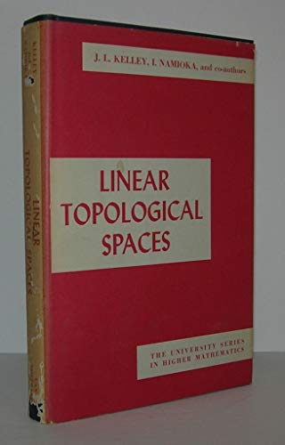 9780442043117: Linear Topological Spaces