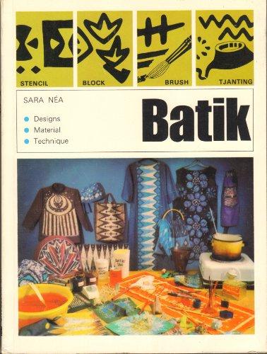 9780442059422: Batik : designs, materials, technique