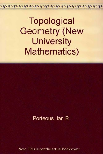 9780442066062: Topological Geometry (New University Mathematics)