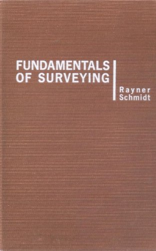 9780442068547: Fundamentals of Surveying