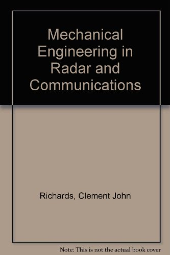 9780442069131: Mechanical Engineering in Radar and Communications