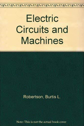 9780442069704: Electric Circuits and Machines