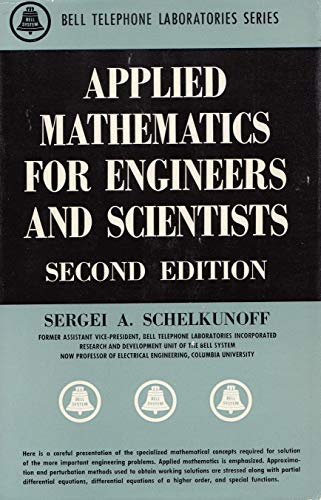 9780442074104: Applied Mathematics for Engineers and Scientists (Bell Laboratories)