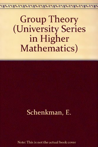 9780442074128: Group Theory (The University Series in Higher Mathematics)