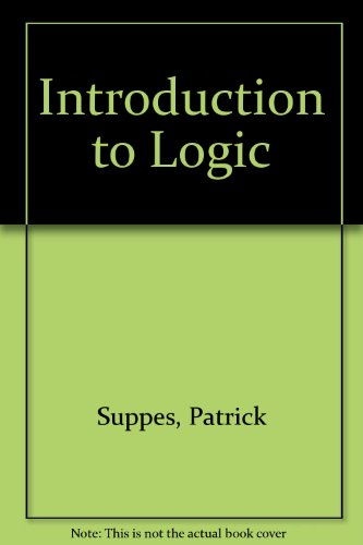 9780442080716: Introduction to Logic
