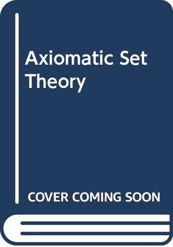9780442080747: Axiomatic Set Theory