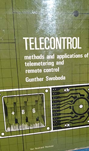 9780442081256: Telecontrol: Methods and Applications of Telemetering and Remote Control