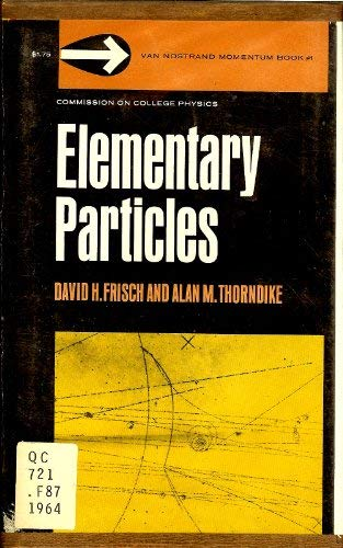 9780442087005: Elementary Particles (Momentum Books)