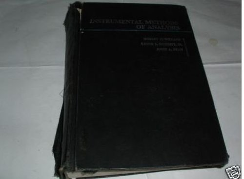 Instrumental Methods of Analysis: Hobart H, etc.