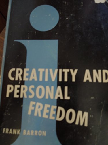 Creativity and Personal Freedom (Insight Series on Psychology): Barron, Frank