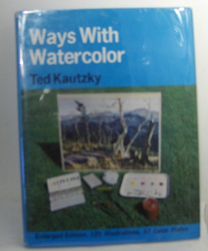 9780442110925: Ways with Watercolour