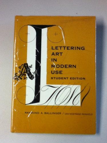 9780442111014: Lettering Art in Modern Use