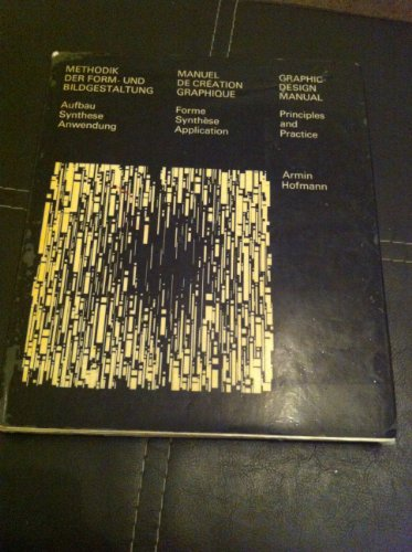 9780442111113: Graphic Design Manual: Principles and Practice