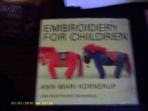 Embroidery for Children: Kornerup, Ann-Mari